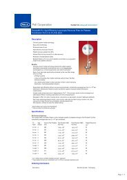 Purecell® PL High Efficiency Leucocyte Removal Filter for ... - Imimg