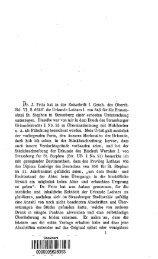 Die aeltesten Urkunden fur St. Stephan in Strassburg