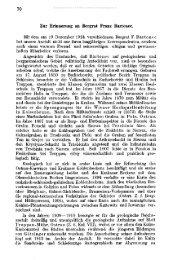 Zur Erinnerung an Bergrat Franz Bartonec. Mit dem am 19 ...