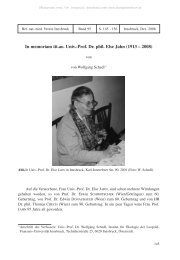 In memoriam tit.ao. Univ.-Prof. Dr. phil. Else Jahn
