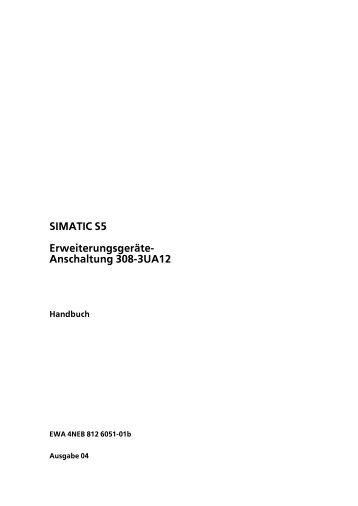 Erweiterungsgeräte-Anschaltung 308-3UA12