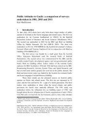 MacKinnon, Public Attitudes to Gaelic.pdf - University of Aberdeen