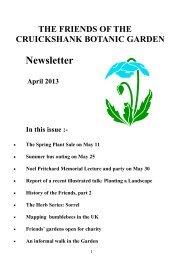 CBG April 2013.pub - University of Aberdeen