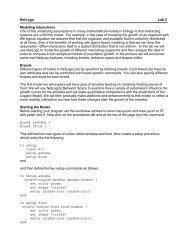 Netlogo_Lab_2 - Academic Program Pages at Evergreen