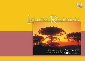 Mesorregião Geográfica Noroeste Paranaense - Ipardes