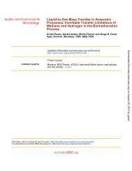 Biomethanation Process - Applied and Environmental Microbiology ...