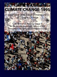 Economic and Social Dimensions of Climate Change - IPCC