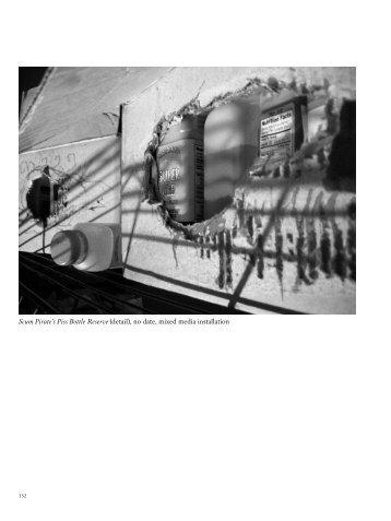 Scum Pirate's Piss Bottle Reserve (detail), no ... - 4. Berlin Biennale