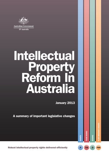 IP Reforms Guide - IP Australia