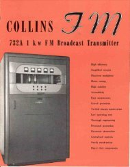 732 1 kw FM Transmitter - AmericanRadioHistory.Com