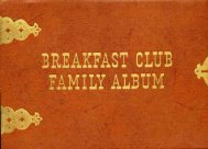BREAKFAST CLUB - AmericanRadioHistory.Com