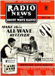 SHORT WAVE RADIO - AmericanRadioHistory.Com