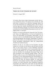Über die eurythmische Kunst - Rudolf Steiner Online Archiv