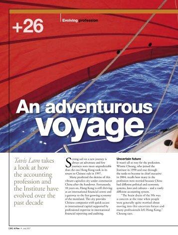 Adventurous voyage
