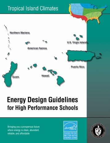 Energy Design Guidelines for High Performance Schools: Tropical ...