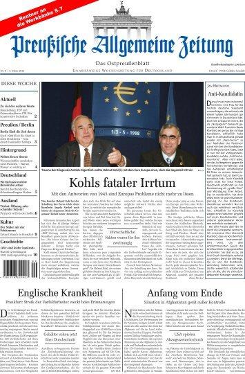Folge 09 vom 03.03.2012 - Archiv Preussische Allgemeine Zeitung