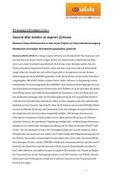 Pressemitteilung - IPP - Universität Bremen
