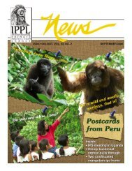 IPPL News 0906.indd - International Primate Protection League
