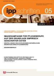 IPP-Schriften 05 - IPP - Universität Bremen