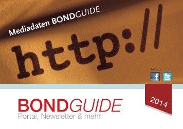 Mediadaten BondGuide 2014 - GoingPublic.de