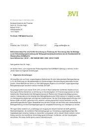 Bundesministerium der Finanzen Herrn Dr. Thomas Hogh ... - BVI