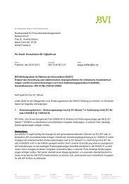 Bundesanstalt für Finanzdienstleistungsaufsicht Referat WA 41 ... - BVI