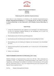 GHL Beteiligung und Verwaltung GmbH - Bergbahn Kitzbühel