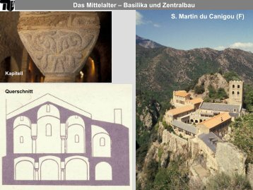 Das Mittelalter – Basilika und Zentralbau - TU Berlin