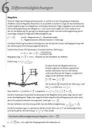 Differentialgleichungen - arthur