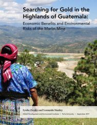 Searching for Gold in the Highlands of Guatemala: - Tufts University