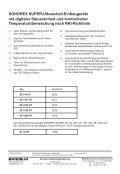SONOREX Super-Ultraschall-Einbaugeräte ... - Bandelin electronic - Page 2
