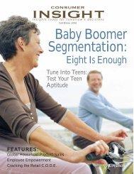 Baby Boomer Segmentation: