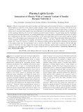 Plasma Leptin Levels - Page 2