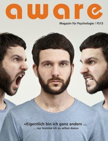«Eigentlich bin ich ganz anders … - aware – Magazin für Psychologie