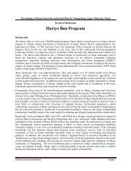 Hariyo Ban Program - Panda - WWF