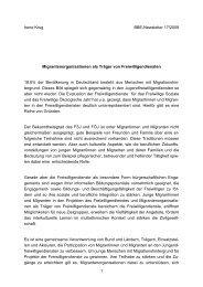 Migrantenorganisationen als Träger von Freiwilligendiensten - BBE