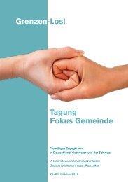 Grenzen-Los! Tagung Fokus Gemeinde - BBE