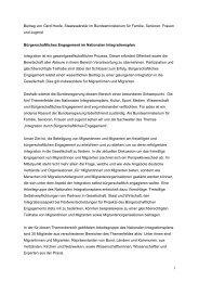 Beitrag von Gerd Hoofe, Staatssekretär im Bundesministerium ... - BBE