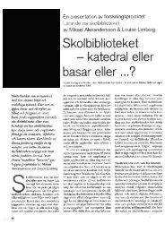limberg_skolbiblioteket_katedral eller basar.pdf - BADA - Högskolan ...