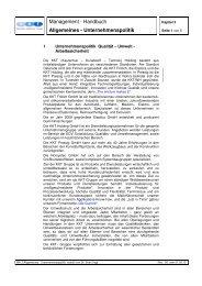 MH 3 Rev 05 01.02.13 Allgemeines - Unternehmenspolitik.13 ... - KKT