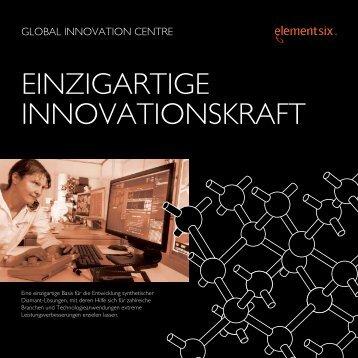 GIC Broschüre - Element Six