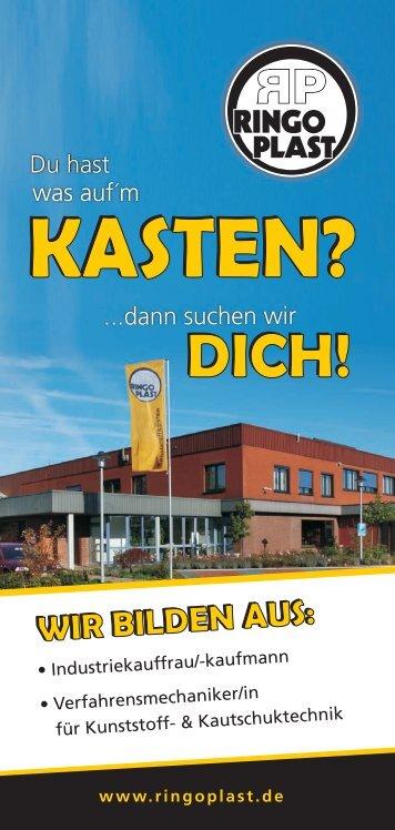 Ausbildungsflyer druck - Ringoplast GmbH