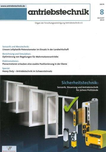 Kunststoffe in der Antriebstechnik