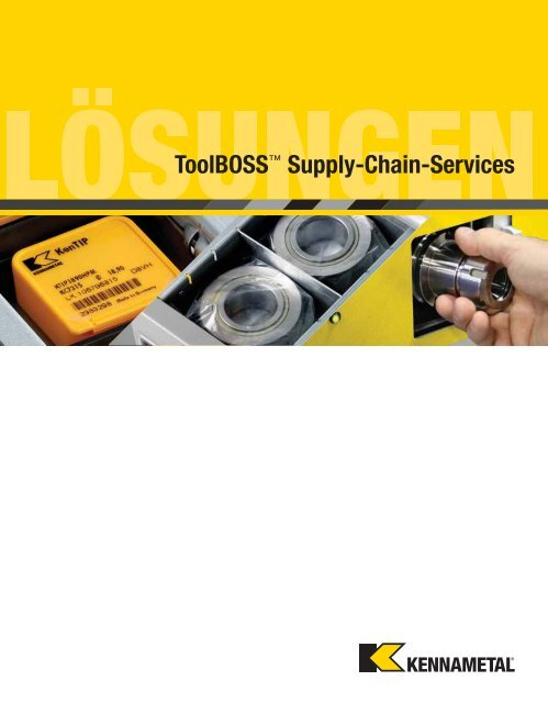 Kennametal ToolBoss Supply Chain — A-12-02975DE