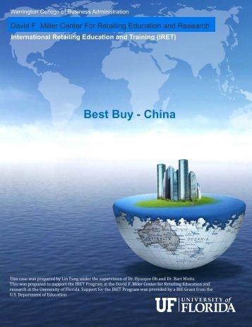 Best Buy - China - University of Florida