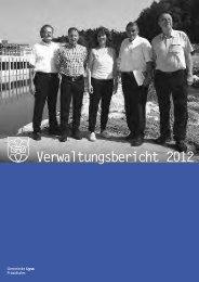 Verwaltungsbericht 2012 - Gemeinde Lyss