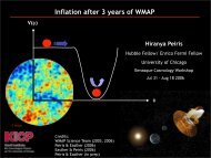Inflation after 3 years of WMAP data