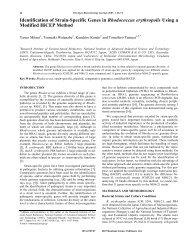 Identification of Strain-Specific Genes in ... - Bentham Science