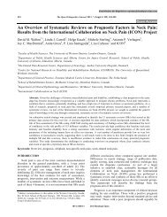 Results from the International Collaboration on ... - Bentham Science