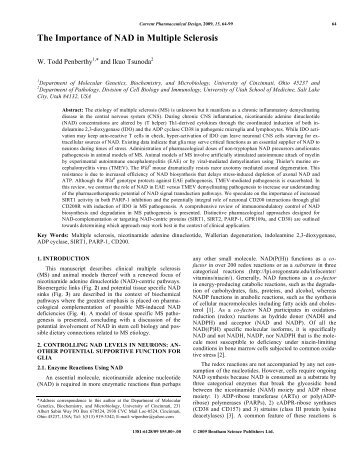 Full text article - Bentham Science